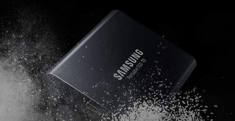 Avis disque dur externe SSD Samsung T5 500 Gb – MU – PA500B EU