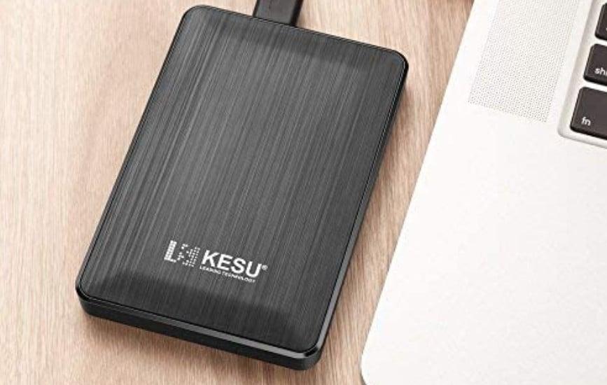 Test du disque dur externe 500 Go Kesu