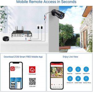 kit camera de surveillance extérieur